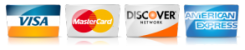 we accet credit cards